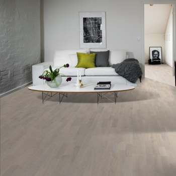 Kahrs Lumen Oak Rime Ultra Matt Engineered Wood Flooring