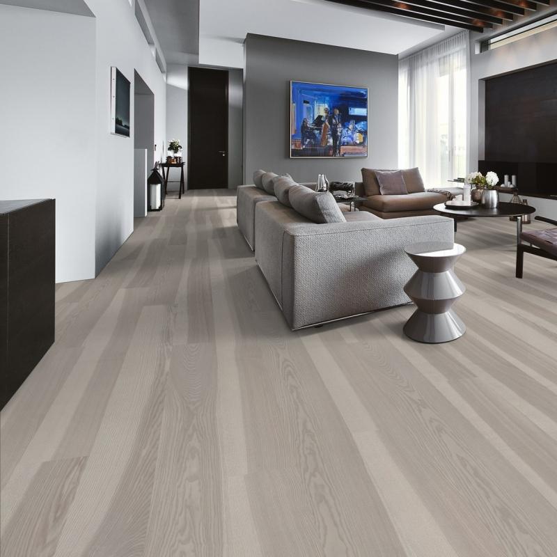 Kahrs Lux Ash Stream Ultra Matt Lacquer Engineered Wood Flooring