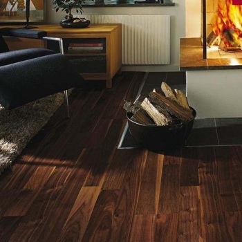 Kahrs Lodge Walnut Rain 7mm 2 Strip Natural Oil