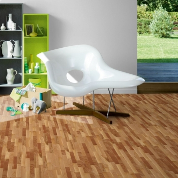 Parador 3060 Living Euro Steamed Cherry 3-Strip Engineered Wood