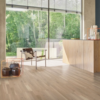 Parador 3060 Living Oak 3-Strip White Engineered Wood Flooring