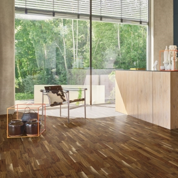 Parador 3060 Natur American Walnut 3-Strip Engineered Wood Flooring