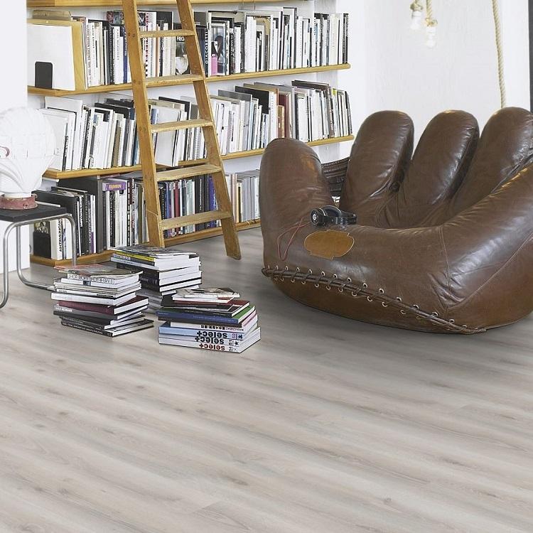 Parador Eco Balance PUR Oak Askada White HDF Backed Vinyl Flooring