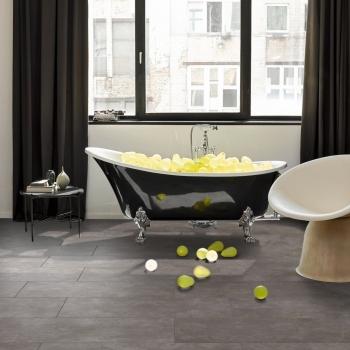 Parador Modular ONE Concrete Ornament Dark Grey Resilient Flooring