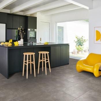 Parador Modular ONE Concrete Dark Grey Resilient Flooring
