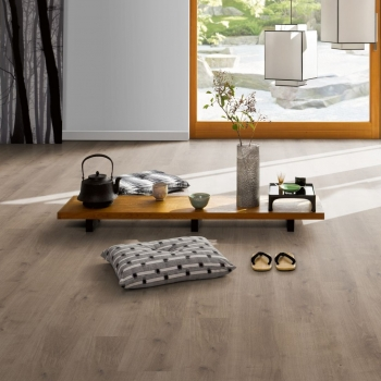 Parador Modular ONE Oak Pure Pearl Grey HDF Backed Resilient Flooring