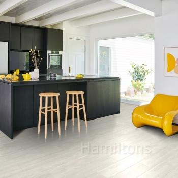 Parador Modular ONE Oak Nordic White HDF Backed Resilient Flooring