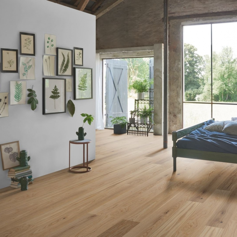 Parador Trendtime 4 Oak Cream Engineered Wood Flooring Save More