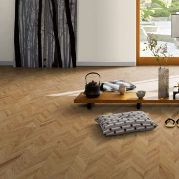 Parador Trendtime 9 Oak Chevron Matt Lacquer Engineered Wood Flooring