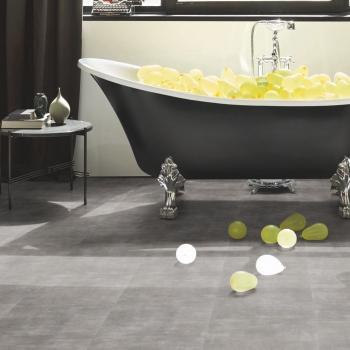 Parador Trendtime 5.50 Mineral Grey Click Solid Vinyl Flooring