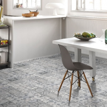 Parador Trendtime 5.30 Ornamentic Grey Vinyl Flooring With HDF Board
