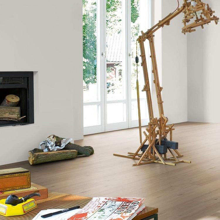 parador classic 2030 oak sanded vinyl board flooring. Black Bedroom Furniture Sets. Home Design Ideas