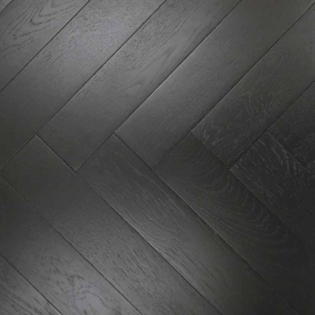 Parador Trendtime 3 Oak Black Herringbone Engineered Parquet