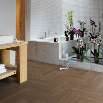 Parador Trendtime 3 Oak Nougat Herringbone Engineered Parquet