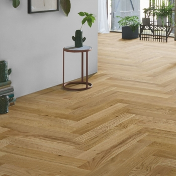Parador Trendtime 3 Oak Natural Oil Herringbone Engineered Parquet