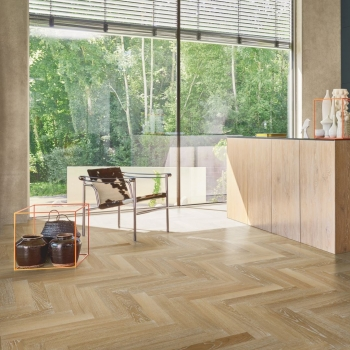Parador Trendtime 3 Herringbone Oak Limed Engineered Parquet