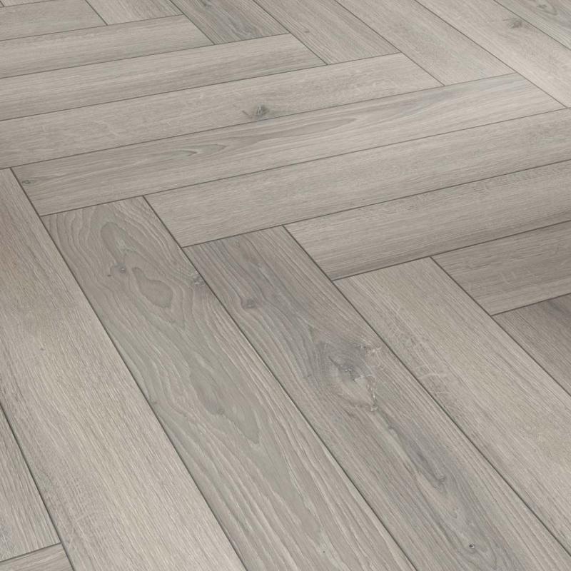 Parador Trendtime 3 Oak Studioline, Light Grey Wood Effect Laminate Flooring