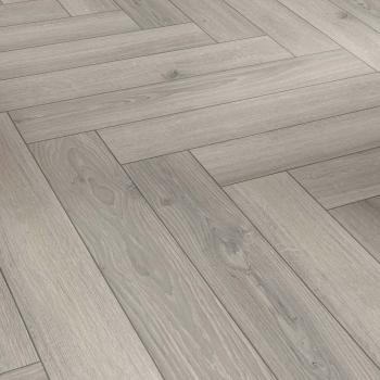 Parador Trendtime 3 Oak Studioline Light Grey Herringbone