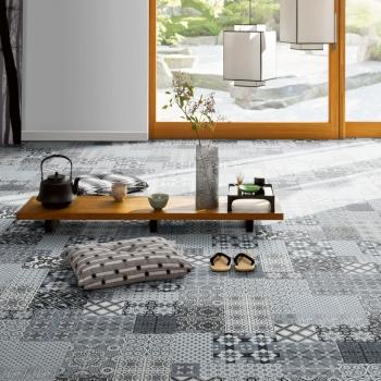 Parador Trendtime 4 Castello Grey Laminate Tile Flooring