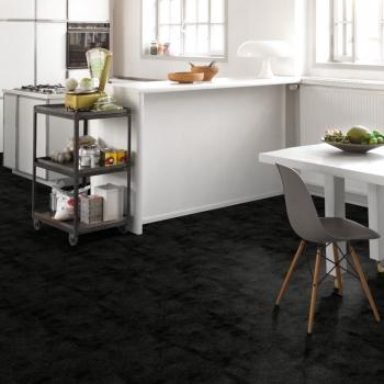 Parador Trendtime 4 Painted Black Stone Texture Laminate Flooring