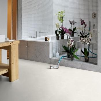 Parador Trendtime 4 Painted White Stone Texture Laminate Flooring