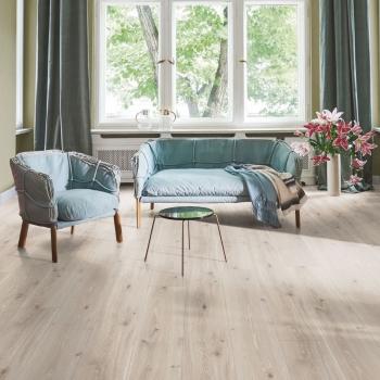 Parador Trendtime 6 Oak Castell White Varnished Laminate Flooring