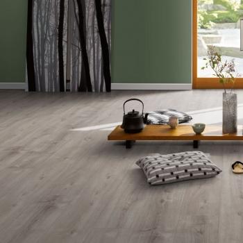 Parador Trendtime 6 Oak Valere Pearl Grey Limed Laminate Flooring