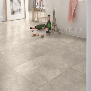 Parador Modular ONE Concrete Ornament Light Grey Resilient Flooring