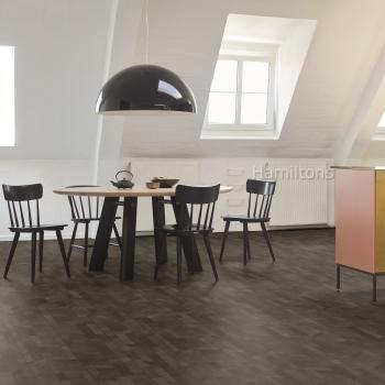 Parador Modular ONE Cross Cut Black HDF Backed Resilient Flooring