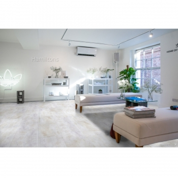 Parador Trendtime 5 Dolomite White SPC Rigid Click Vinyl Flooring