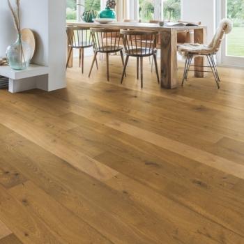 Quickstep Castello Barrel Brown Oak Oiled Engineered Wood Flooring