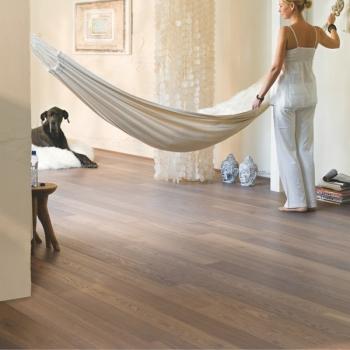 Quickstep Castello Cappuccino Oak Oiled Engineered Wood Flooring
