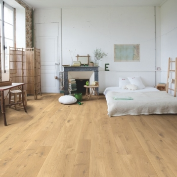 Quickstep Compact Oak Country Raw Oak Extra Matt Engineered Wood