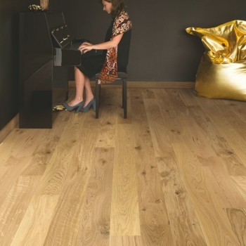 Quickstep Compact Oak Natural Matt Engineered Wood Flooring