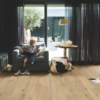 Quickstep Compact Oak Pure Extra Matt Engineered Wood Flooring