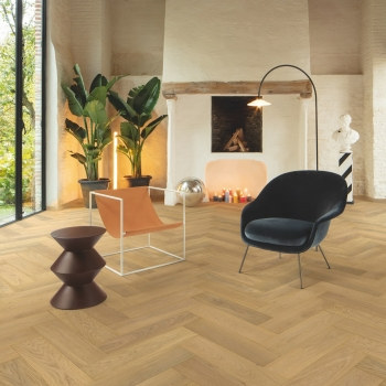 Quick-Step Disegno Pure Light Oak Herringbone Extra Matt