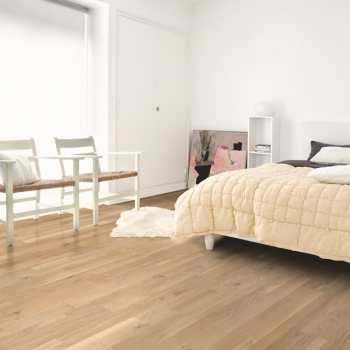 Quickstep Variano Dynamic Raw Oak Extra Matt Engineered Wood Flooring