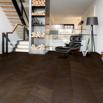 Quick-step Intenso Oak Intense Oiled Chevron Engineered Wood Flooring