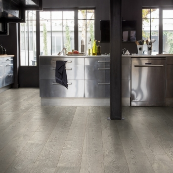 Quickstep Palazzo Concrete Oak Oiled Engineered Wood Flooring PAL3795S