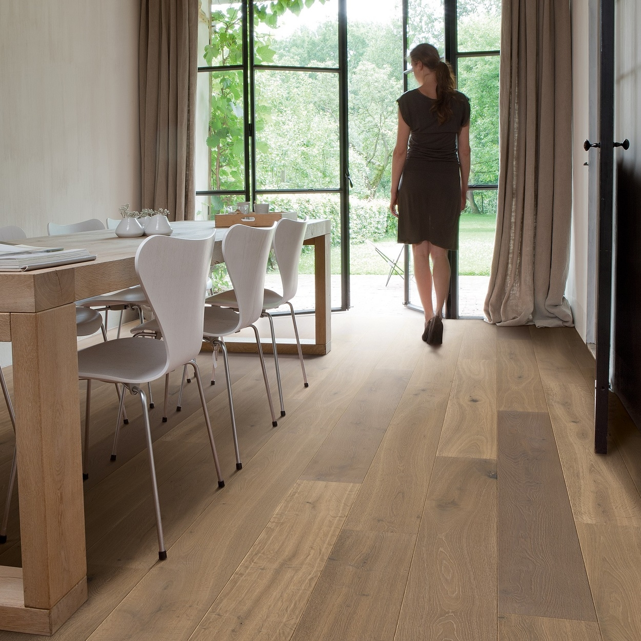Quickstep Palazzo Latte Oak Oiled Engineered Wood Flooring PAL3885S