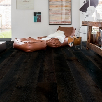 Quickstep Palazzo Midnight Oak Oiled Engineered Wood Flooring PAL3889S