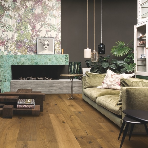Quick-step Imperio Caramel Oak Engineered Wood Flooring