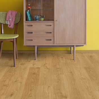 Quick-Step Eligna White Oak Light Natural Laminate Flooring EL1491