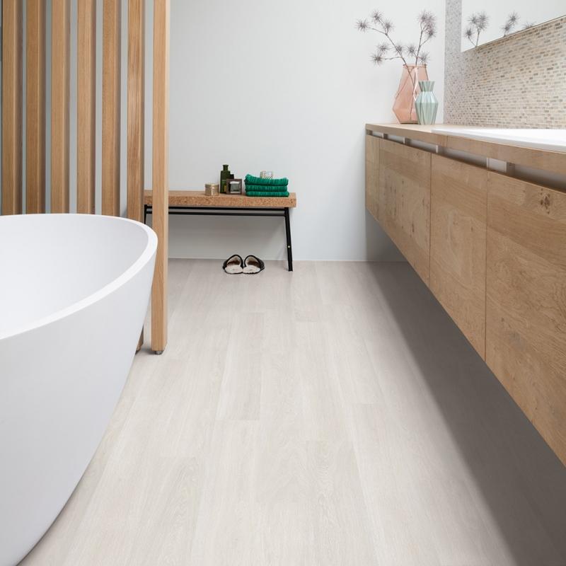 Quick Step Eligna Estate Oak Light Grey Laminate Flooring El3573