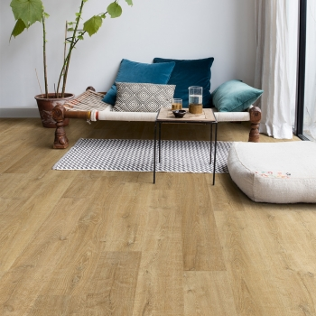 Quick-Step Eligna Metallic Ceruse Oak Gold Laminate Flooring EL3466