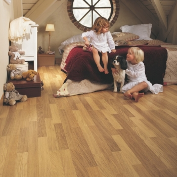 Quickstep Classic Enhanced Oak Natural Varnished