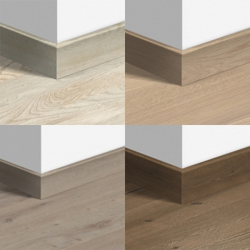 Quickstep 80mm Wood Veneer Parquet Skirting Board