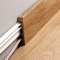 Quick-Step Largo Parquet Skirting Board 14 x 100 x 2400mm