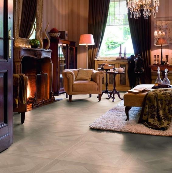 Quick-Step Arte Verailles White Oiled Laminate Flooring UF1248