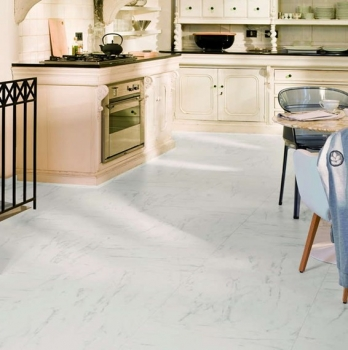 Quick-Step Arte Marble Carrara Laminate Flooring UF1400
